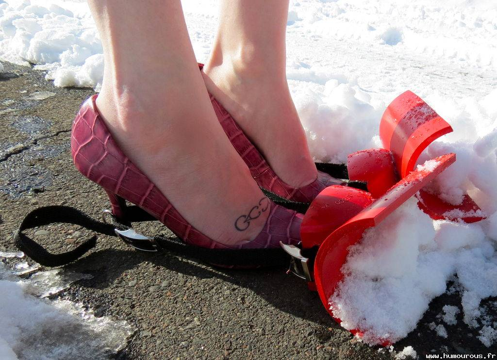 Chaussures chasse-neige