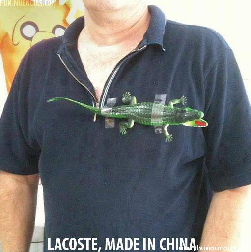 Le Lacoste chinois