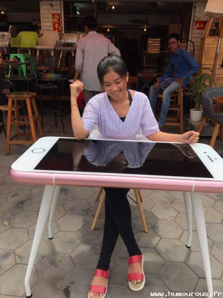 Table iphone