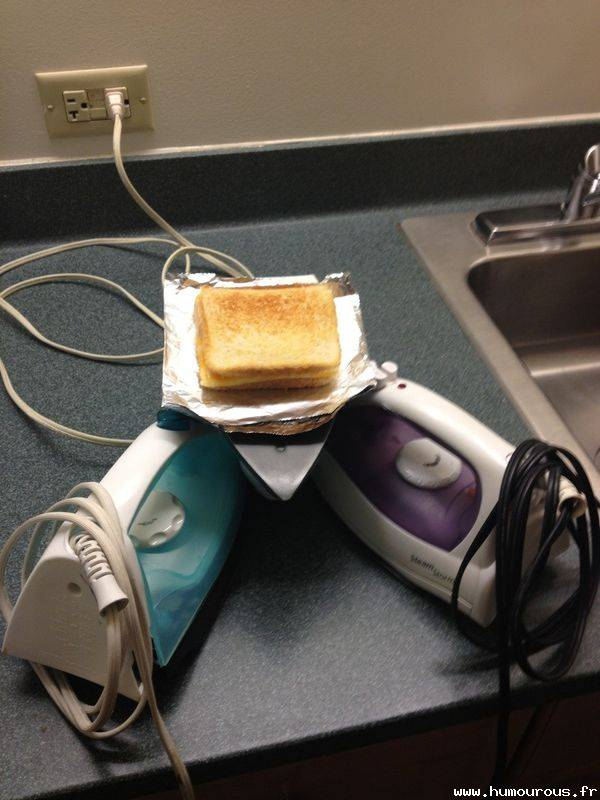 Toaster Home Made